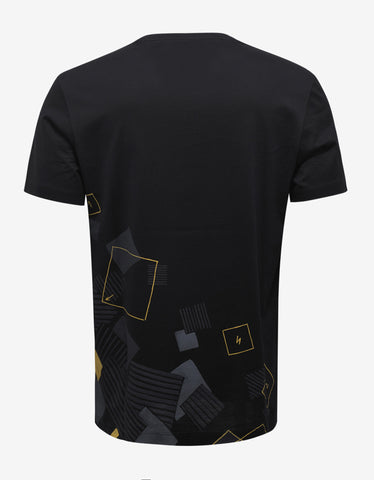 Versace Black New Medusa Print T-Shirt