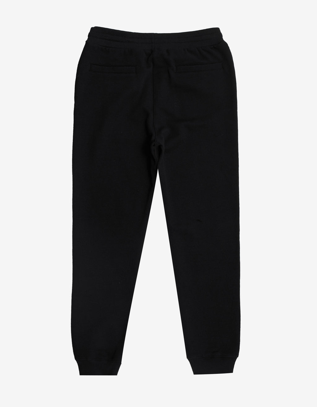 Black Sweat Pants with Multicolour Vintage Logo