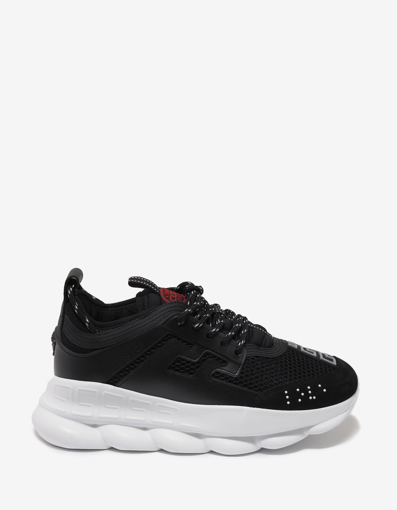 Chain Reaction Black Trainers