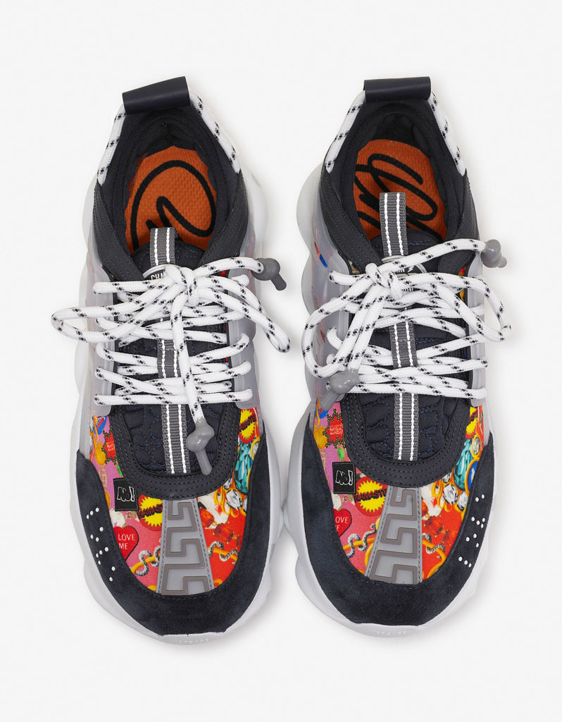 Chain Reaction Graphic Print Trainers