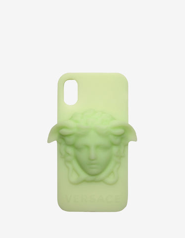 Versace Glow In The Dark Medusa iPhone X Phone Case