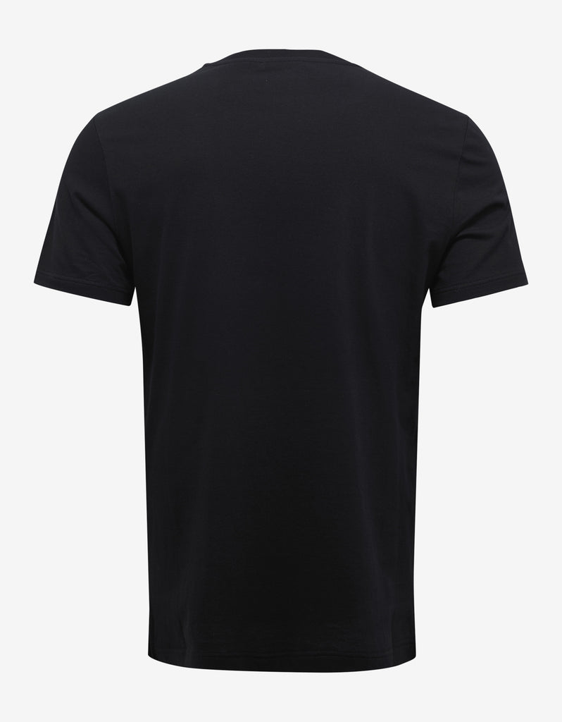 Black Logo Gym Print T-Shirt
