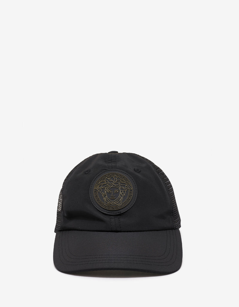 Black Medusa Badge Baseball Cap
