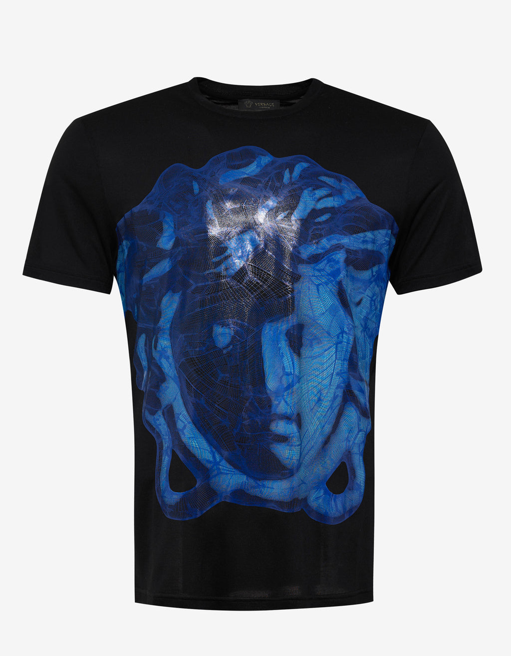 Black Medusa Graphic Print T-Shirt