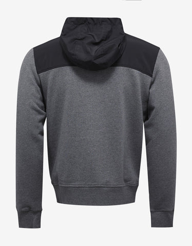 Versace Gym Grey Medusa Badge Hoodie