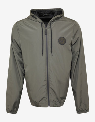 Versace Gym Khaki Medusa Badge Lightweight Jacket