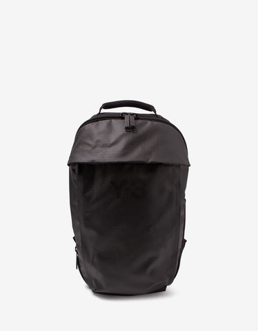 Black Logo Band Backpack