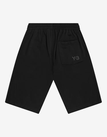 Y-3 Black Logo Sweat Shorts