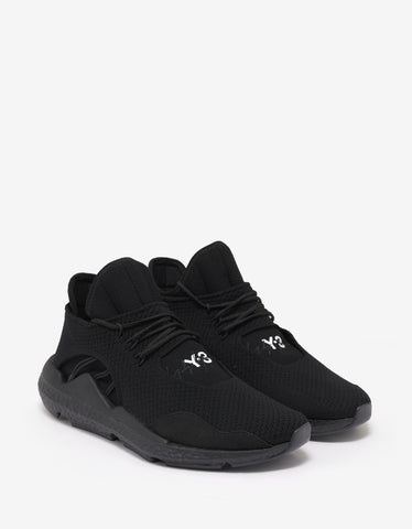 Y-3 Saikou Black Trainers