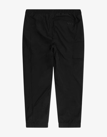 Y-3 Black Travel Stretch Nylon Track Pants