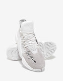 BYW BBall White High Top Trainers