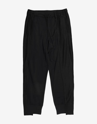 Y-3 Black Patchwork Pants
