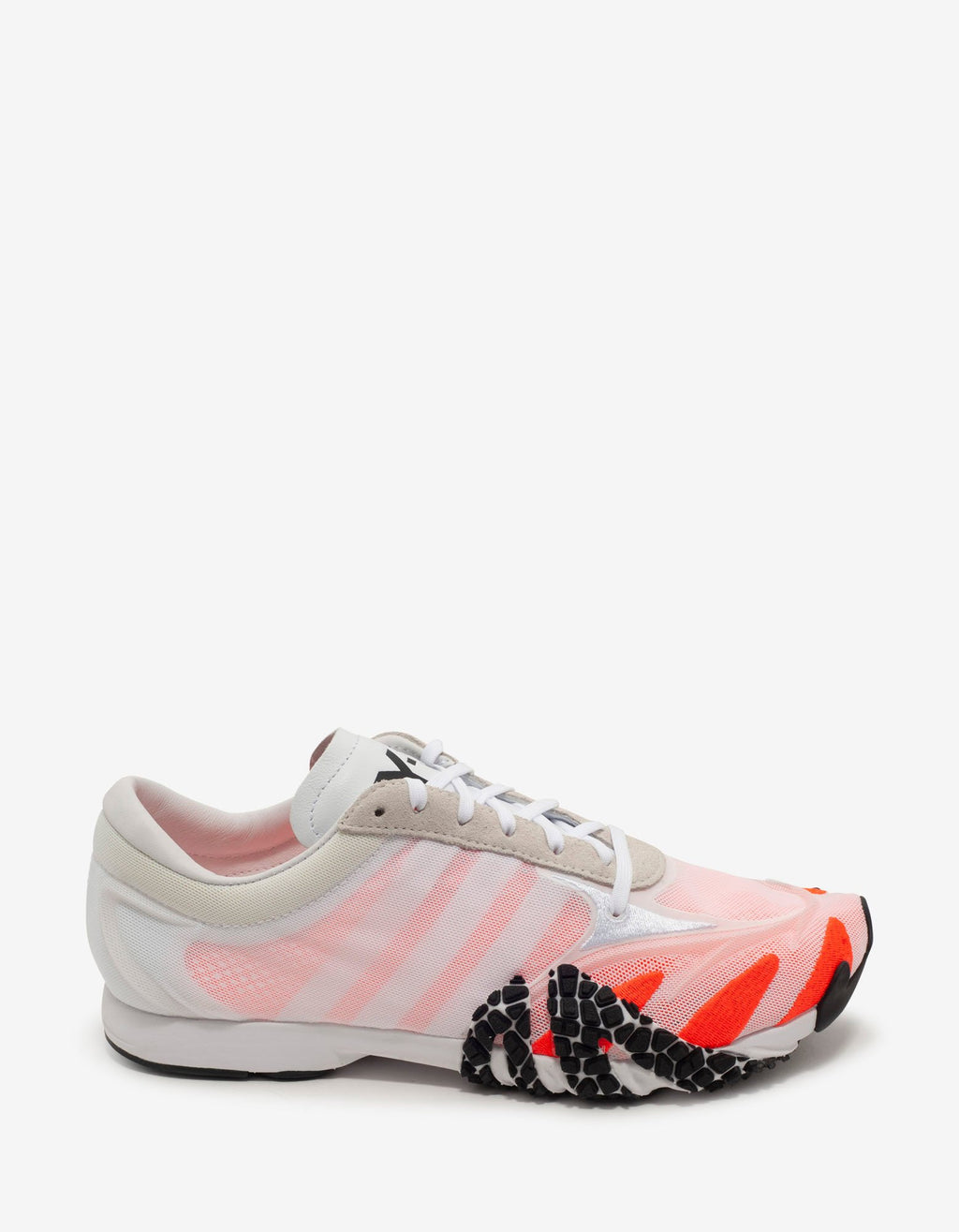 Rehito White & Orange Trainers -