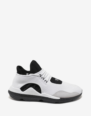 Y-3 Saikou White Trainers