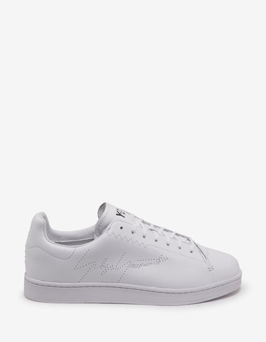 Y-3 White Yohji Court Trainers