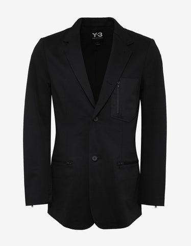 Y-3 x James Harden Black Blazer Jacket