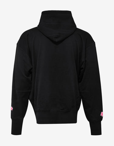 Y-3 x James Harden Black Botan Flower Hooded Sweatshirt