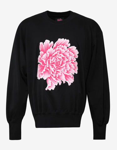 Y-3 x James Harden Black Botan Flower Sweatshirt