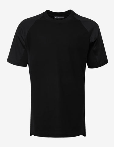 Y-3 x James Harden Black Sateen T-Shirt