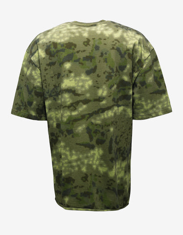 Yeezy CPN 13 Green Camouflage Graphic T-Shirt