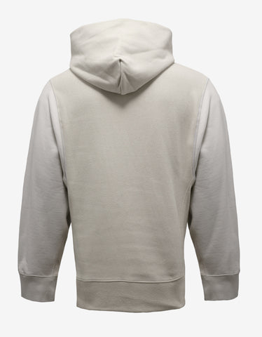 Yeezy Off White Two Tone Hoodie