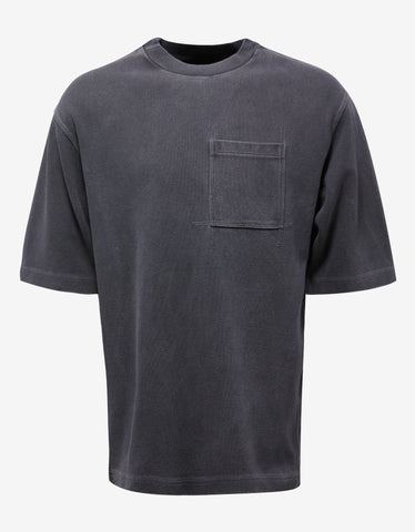 Yeezy Onyx Pitch Grey Heavy Knit T-Shirt