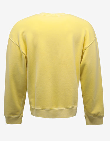 Yeezy God Sun Wash Yellow Sweatshirt