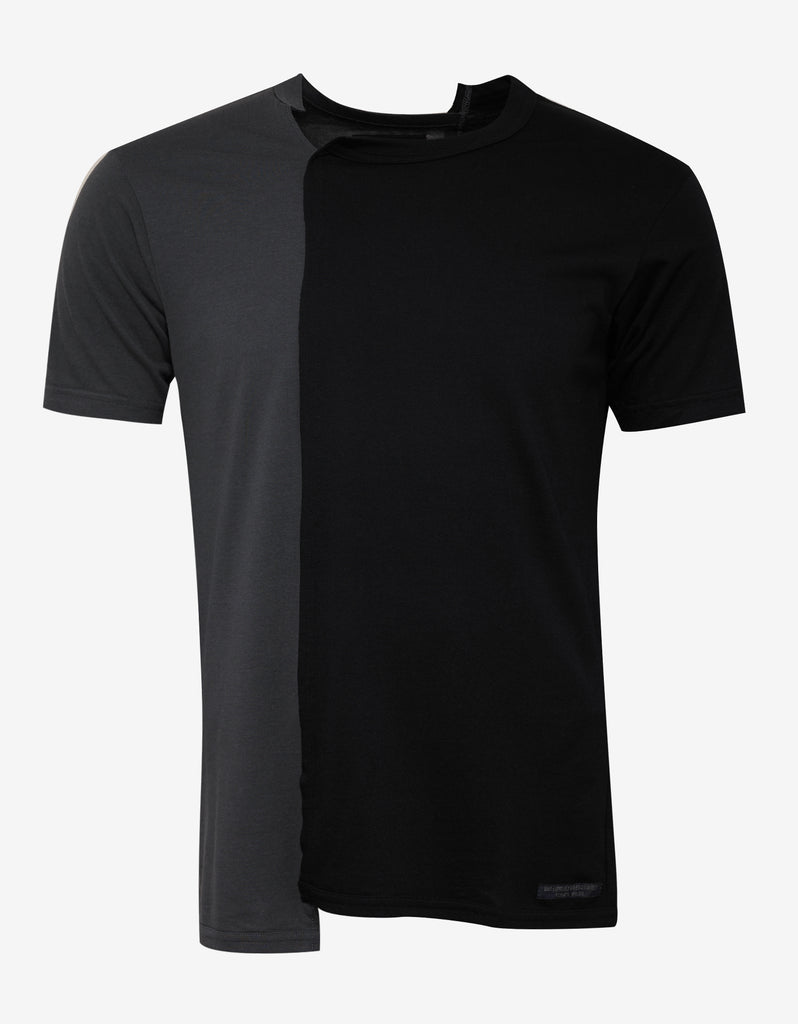 Asymmetric Panel T-Shirt