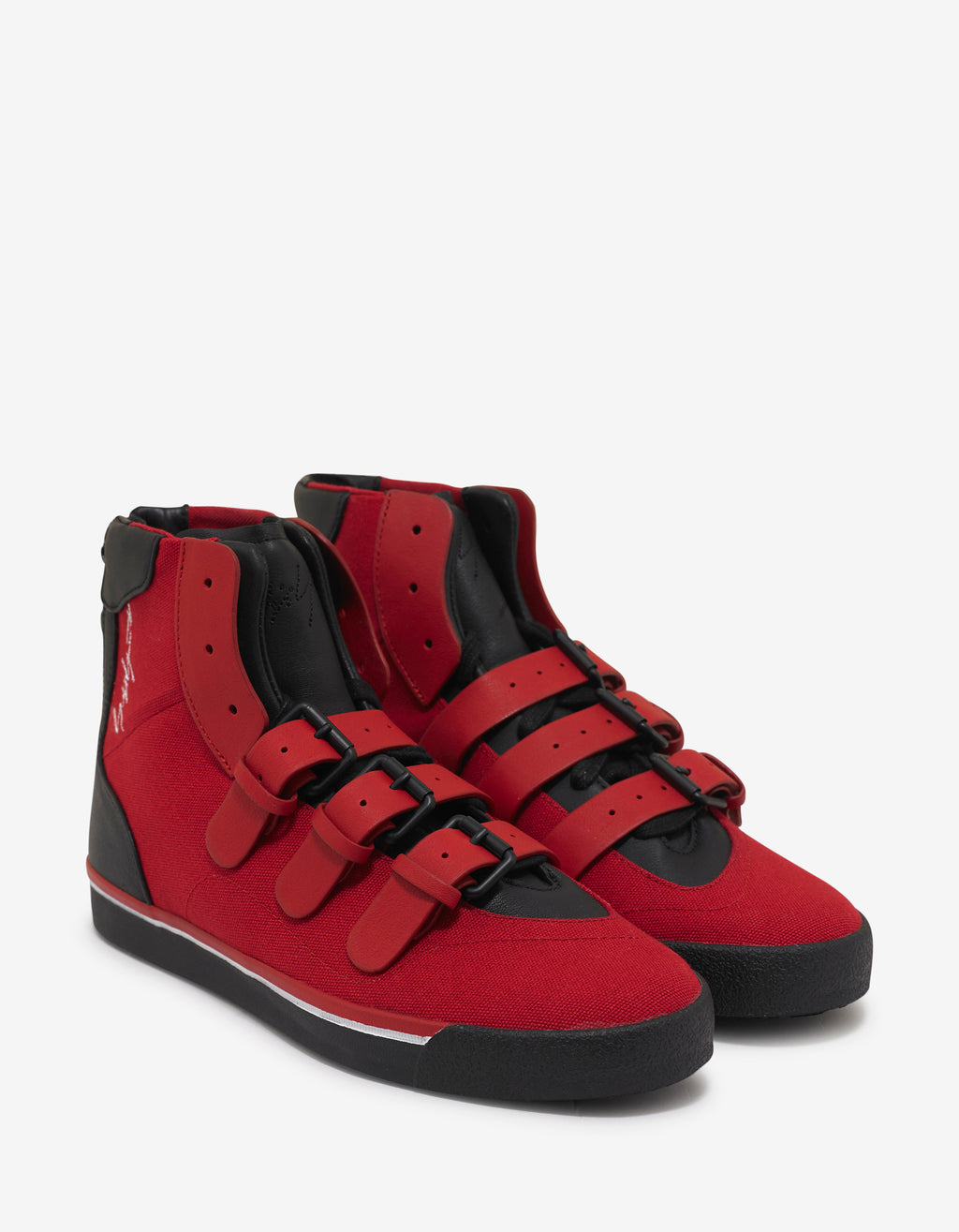 Red YY Middoberuto High Top Trainers