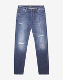 Iggy Skinny 'Foremost Damage' Distressed Jeans