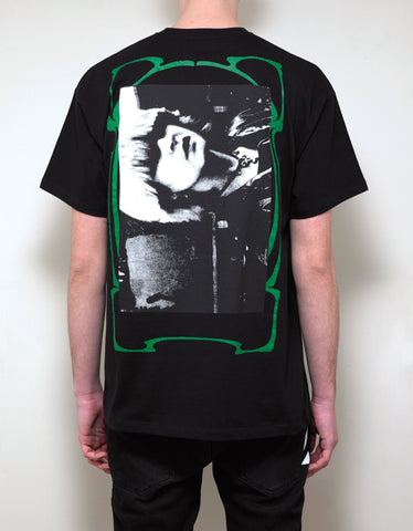 Raf Simons Black Toya Graphic Print T-Shirt