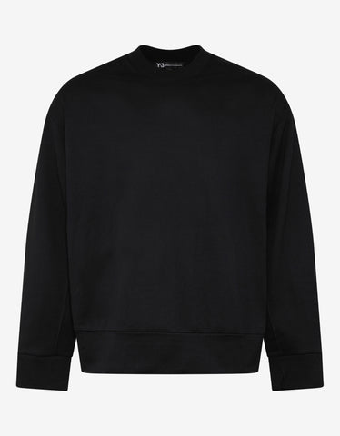 Y-3 Black Signature Graphic Sweatshirt