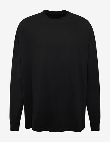 Ben Taverniti Unravel Project Black Printed Long Sleeve Skate T-Shirt