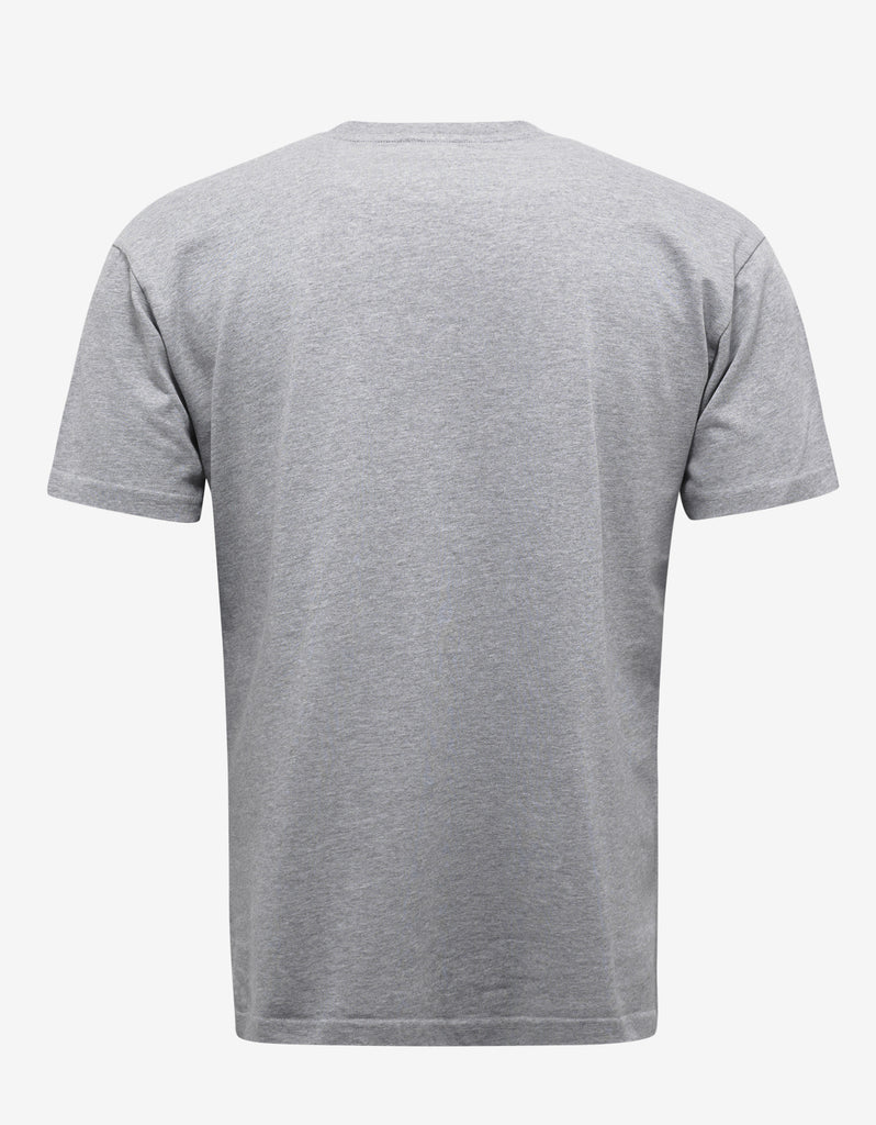 Grey Tiger Embroidery T-Shirt