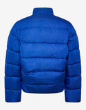 Blue C Shape Down Jacket