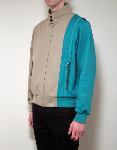 Maison Margiela Spliced Gabardine Sports Jacket