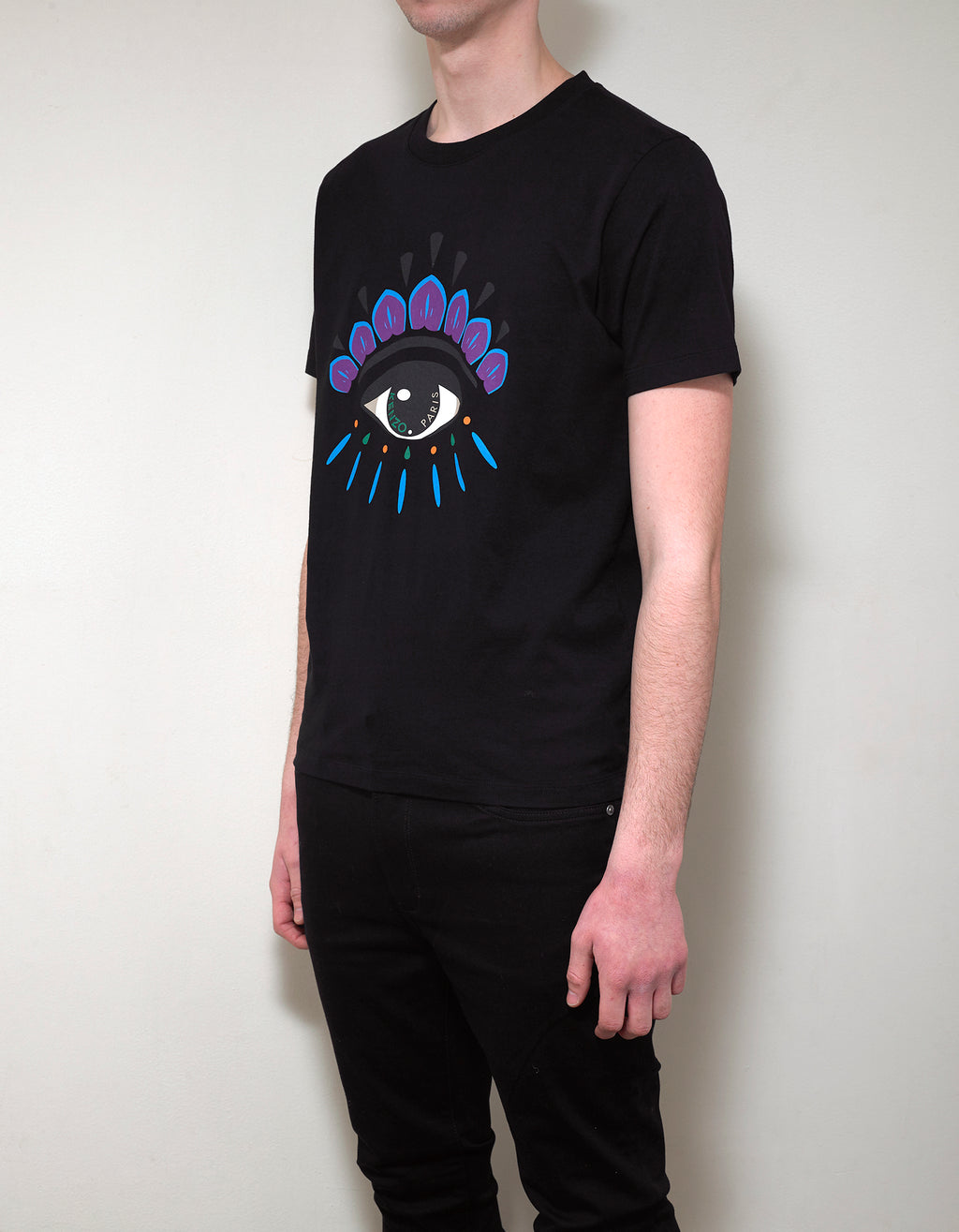 Black Eye Print T-Shirt
