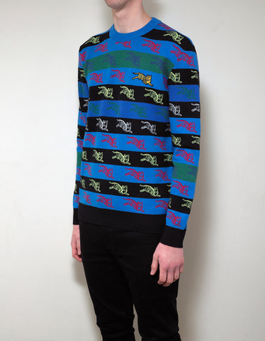 Kenzo All-Over Jumping Tiger Sweater