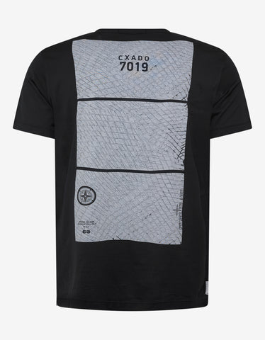 Stone Island Shadow Project Black Graphic T-Shirt