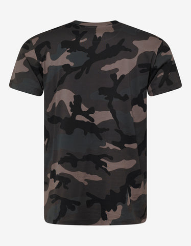 c1e8924a ... Valentino Green Camo V For Valentino T-Shirt
