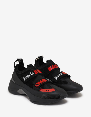 Palm Angels Black Recovery Trainers