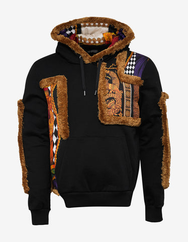 Versace Black Pillow Talk Hoodie