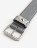 Gris Nuage Arena Leather Belt