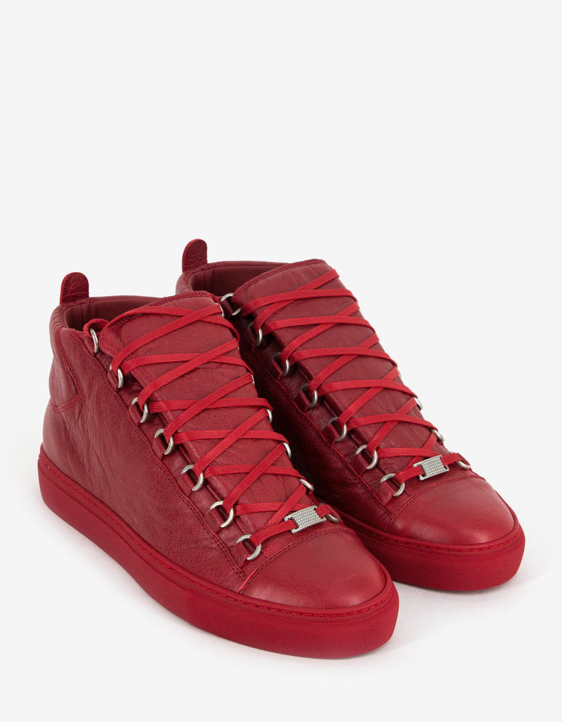 Rouge Grenade Arena Opaque High Top Trainers
