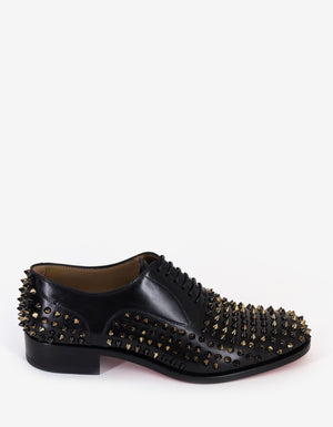 Bruno Spikes Flat Oxford Shoes -