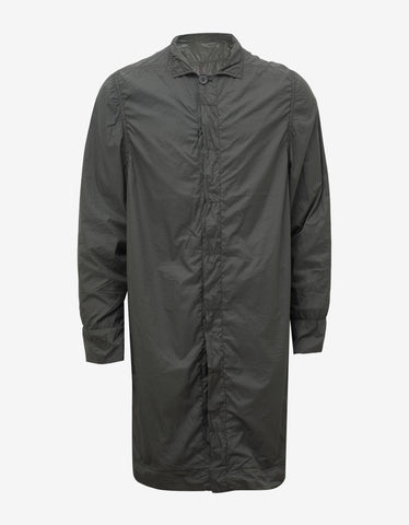DRKSHDW by Rick Owens Darkdust Grey Worker Coat
