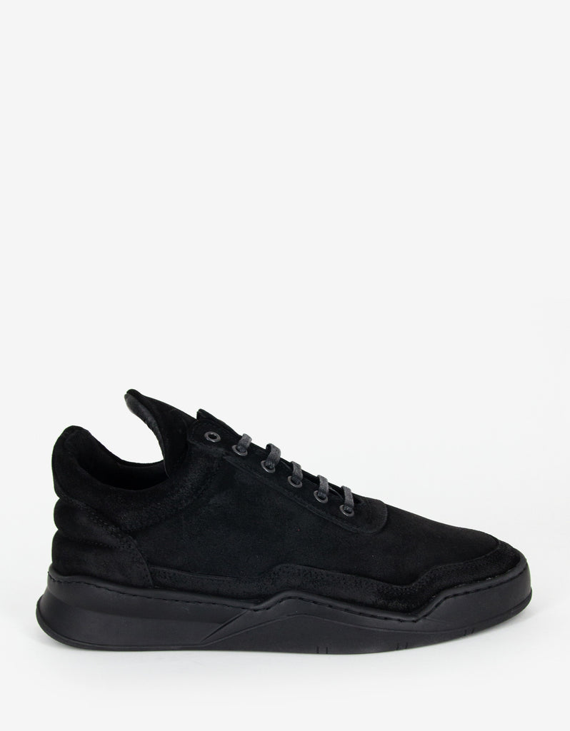 Ghost All Black Low Top Trainers