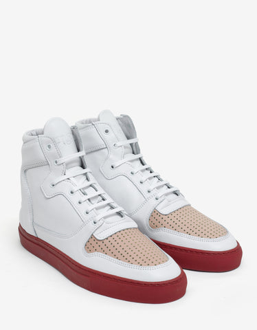 Filling Pieces High Top Transformed Nude Bladeux Trainers