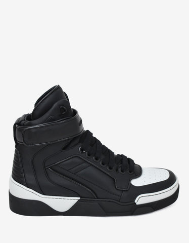 Givenchy Black & White Tyson High Top Trainers