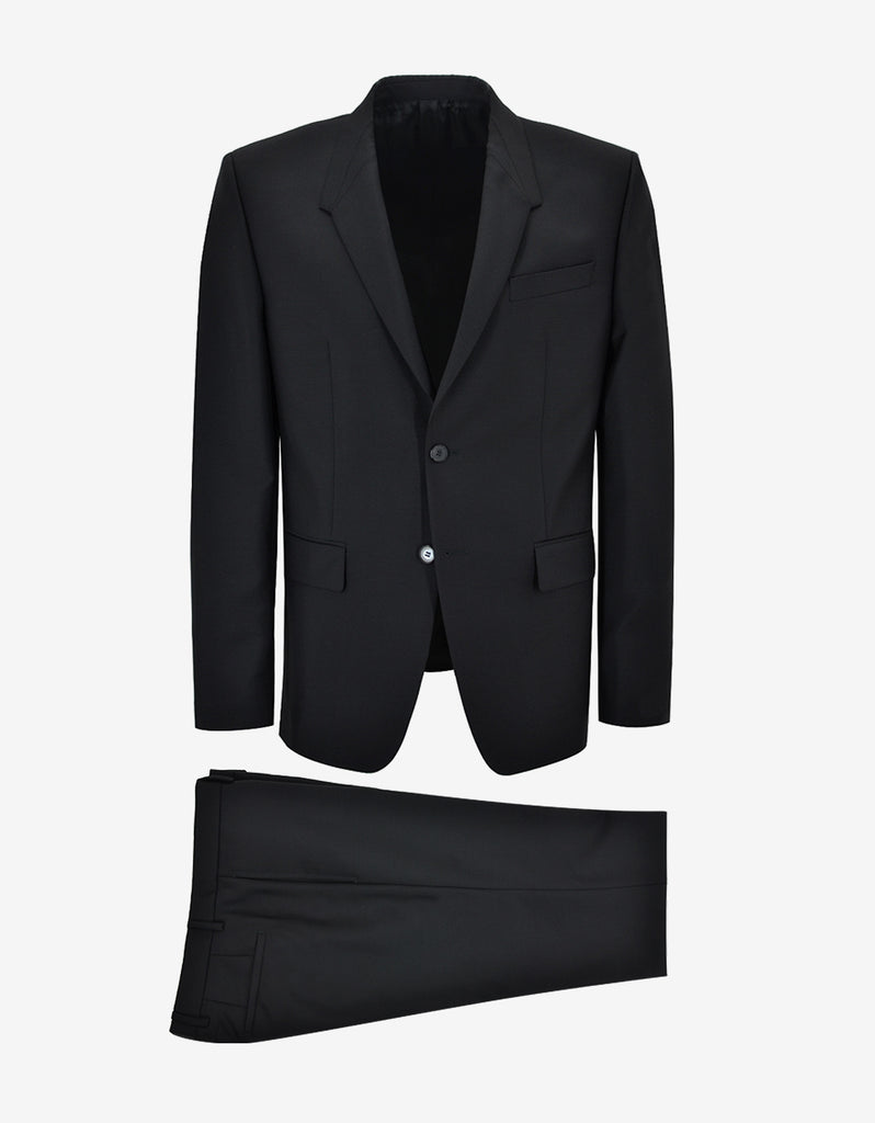 Black Madonna Lapel Suit